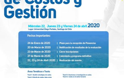 Invitación al II Congreso del Instituto Chileno de Costos