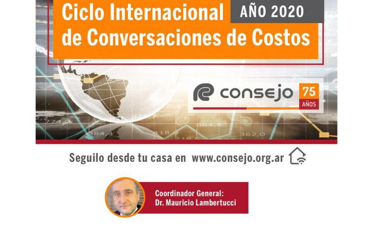 """Segunda edición del """"Ciclo Internacional de Conversaciones de Costos"""" organizado por el CPCECABA (15 de julio)"""