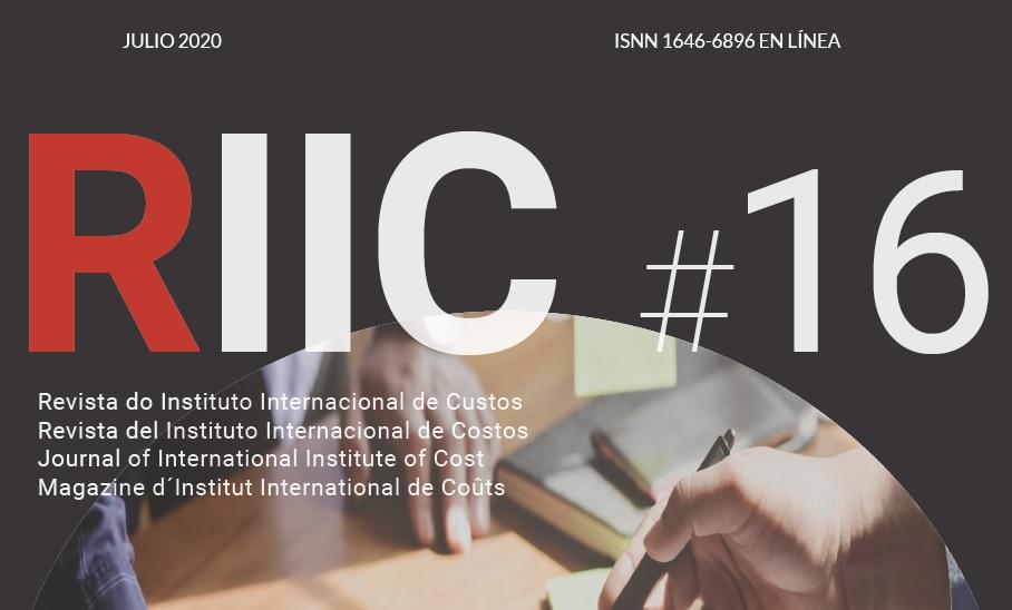 Edição 16 da Revista do Instituto Internacional de Custos