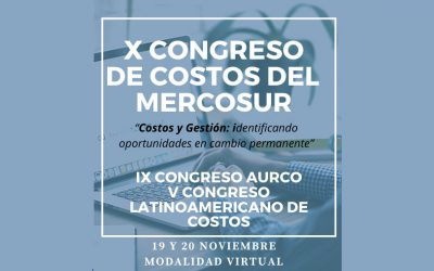 X Mercosur Costs Congress (November 19 and 20)