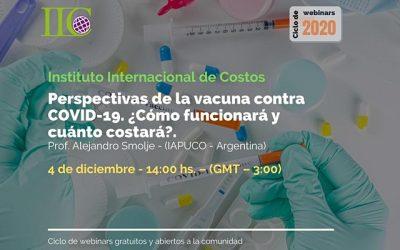 Perspectivas de la vacuna contra COVID19 ¿Cómo funcionará y cuanto costará?