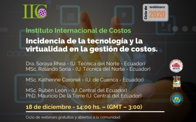 Incidencia de la tecnología y la virtualidad en la gestión de costos
